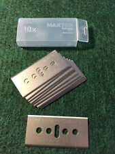 MARTOR metal #45.60 BLADES FOR BOX CUTTER UTILITY KNIFE 10 ea/ pk NICE DEAL