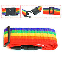 Travel Luggage Suitcase Cross Strap Baggage Bag Backpack Belt Clasp