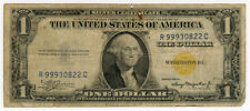 1935-A US NORTH AFRICA SILVER CERTIFICATE $1 DOLLAR SCARCE NOTE.