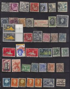 stamps  Netherland, Indie,27