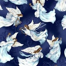 Fat Quarter A Beautiful Place - Tossed Angels 100% Cotton Quilting Fabric