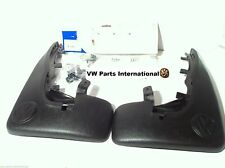 VW Golf MK3 VR6 GTI Front Mud Flaps VOTEX NOS OEM VW Parts Shipped Worldwide