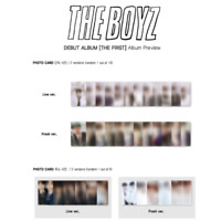 THE BOYZ - DEBUT ALBUM THE FIRST PHOTO CARD
