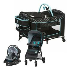 Disney Baby Stroller Travel System with Car Seat and Playard Nursery Boy Combo