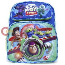 """Disney Toy Story School Backpack Small 12"""" Book Bag Buzz Woody Bag"""