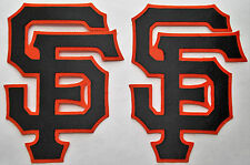 LOT OF 2 SAN FRANCISCO GIANTS IRON-ON PATCHES