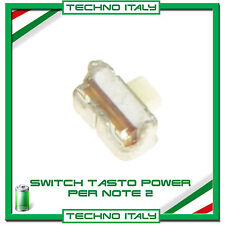 POWER SWITCH TASTO ACCENSIONE POWER BUTTON ON/OFF PER SAMSUNG Note 2 N7100