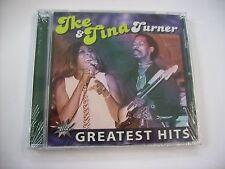 IKE & TINA TURNER - GREATEST HITS - CD SIGILLATO 2011 - 18 TRACKS
