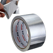 1 Roll 50mmx 17M Aluminium Foil Heat Shield Adhesive Sealing Tape Duct Repairs