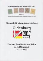 Arge Literatur: Post aus dem Deutschen Reich nach Dänemark 1872-1900 NEU!