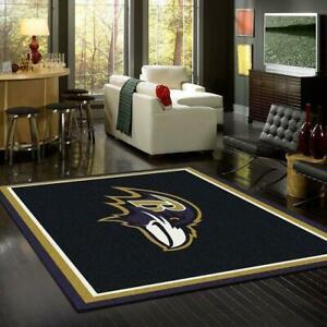 New Baltimore Ravens Football Rug For Fans,Premium Rectangle Rug