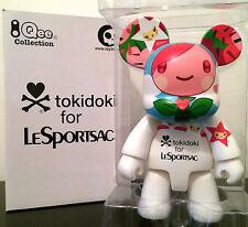 """QEE CAT 8"""" TOKIDOKI FOR LESPORTSAC WHITE COLLECTIBLE TOY2R TOY VINYL FIGURE NIB"""