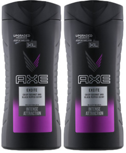 Axe Excite Intense Attraction Coconut & Black Pepper Body Wash 250ml (Pack of 2)
