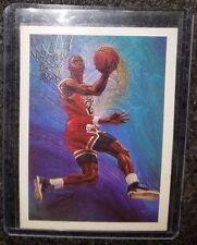 Michael Jordan 1990 NBA HOOPS CHECKLIST #358!