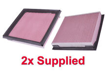 2x Air Filter Standard OE Replacement - 350Z VQ35HR 07-09 Z33 One Pair Supplied