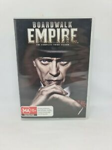 BOARDWALK EMPIRE Season Three DVD Region 4 TV Show Very Good Condition