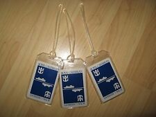 Royal Caribbean Luggage Tags - Cruise Line Playing Cards Ship Name Tag Set of 3