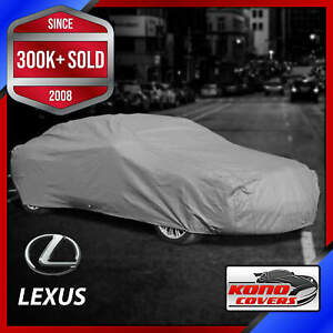 LEXUS [OUTDOOR] CAR COVER ✅ All Weather ✅ Waterproof ✅ Full Body ✅ CUSTOM ✅ FIT