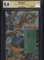 Who's Who #10 CGC 9.4 3x SS Walt Simonson & Jerry Ordway & Joe Staton HAWKMAN