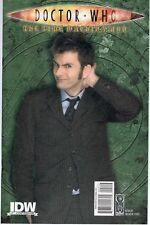 DOCTOR WHO THE TIME MACHINATION Photo Variant Cover RI 2009 IDW 10th Doctor NM