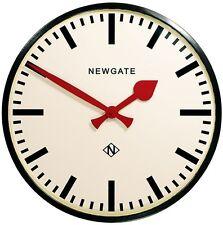 Orologio da parete Newgate Putney Nero metallo vetro Retrò Industriale-Edge versatile Regalo