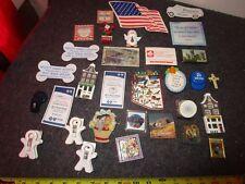 large lot of vintage refrigerator magnets some travel