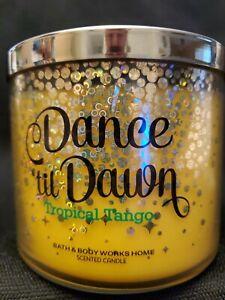 Bath & Body Works Dance Till Dawn Sparkly Lid 14.5oz 3 Wick