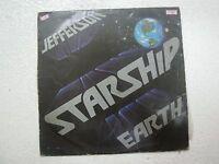 JEFFERSON STARSHIP EARTH  RARE LP RECORD vinyl  INDIA INDIAN VG+