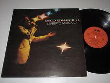 LP/UMBERTO MARCATO/DISCO ROMANTICO/Gala Record GLLP 91000 Italia