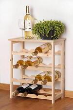 Weinregal Weinlager Weinständer Weinschrank Flaschenregal 16 Flaschen Regal