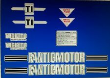 FANTIC TI TURISMO  FULL PAINTWORK DECAL KIT