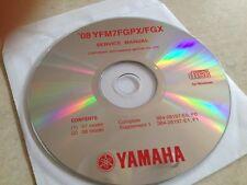 Yamaha YFM7FGPX FGX 2007 2008 Workshop Service manual manuel atelier CD pdf