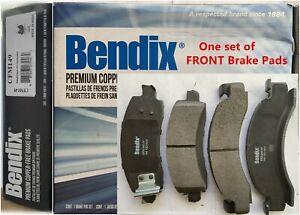 Front Disc Brake Pad Set for 1975-1999 Chevrolet P30,Bendix CFM149 Semi-Metallic