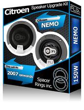 Citroen Nemo porte avant haut-parleurs voiture Fli Haut-parleurs + Adaptateur Enceinte Pods 150 W