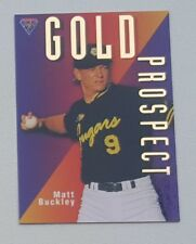1996 Futera ABL Australian Baseball Gold Prospect #GP3 Matt Buckley