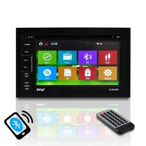 6.5'' Double-DIN Touchscreen Video Multimedia Disc/MP4/MP3 Player Bluetooth