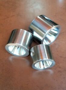 """3 Coin Ring Making Tools 17° Double Sided Reduction Fold Over Dies 1.0"""" to 1.5"""""""