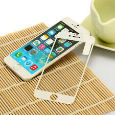 White 3D Curved Full Covered Tempered Glass Screen Protector for iPhone 6S/ 6