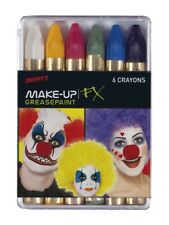 Carnival Greasepaint Crayons Adult Unisex Smiffys Fancy Dress Costume Accessory