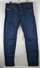 Men's Diesel BRADDOM Slim Carrot 34 x 32 Denim Jeans wash 008QU W34 L32 34W 32L