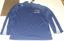 2013 New England Patriots Read & React III 1/4 Zip Pullover Jacket XL Football