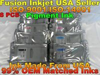 8 Compatible Cartridge canon PFI-706 Pigment Ink ipf 8400 ipf 9400s 700ml 8400s