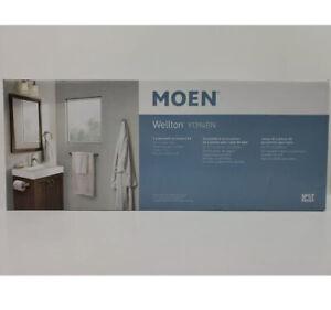 MOEN Wellton Y1394BN 4 Piece Bath Accessory Kit Brushed Nickel Finish New