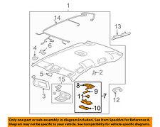 Chevrolet GM OEM 06-13 Impala-Dome Reading-Light Assy 20998906