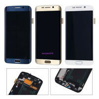 Pour samsung Galaxy s6 edge G925 G925F Amoled Affichage LCD Ecran tactile+cover