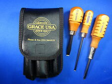 GRACE USA 3PC COLT PEACEMAKER SCREWDRIVER SET HG-3 ! GUNSMITH GUN CARE MACHINIST