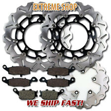 Suzuki F+R Brake Rotor + Pads GSF 650 Bandit Faired & Naked (ABS) (2005-2006)