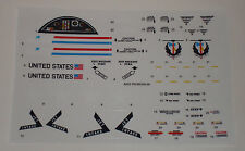GI Joe Tomahawk Helicopter Sticker Decal Sheet