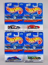 Hot Wheels 2000 KUNG FU FORCE Toyota MR2, '99 Mustang, Shadow Jet II, Mini Truck