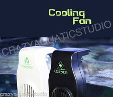 White colorHang on Single Cooling Fan / Chiller For Tropical  Aquarium Fish Tank